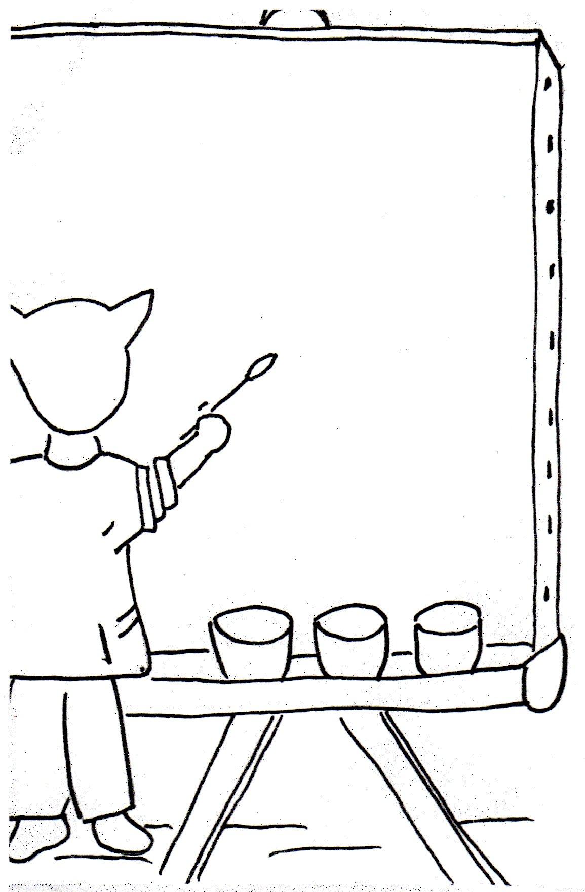 dessin pour étiquettes porte-manteaux